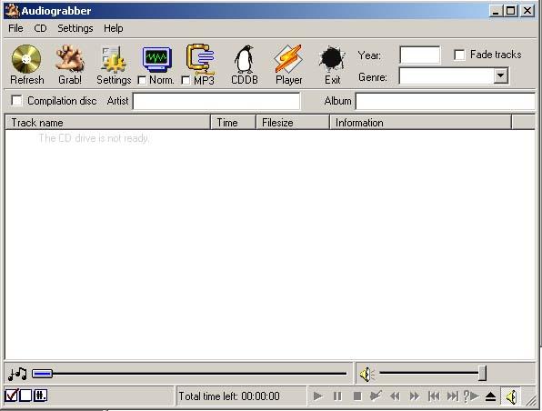 Audiograbber 1.83 - Программа для конвертации аудио треков в файлы форматов